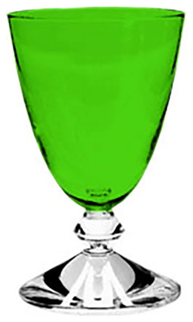 Baccarat Crystal Vega Small Emerald Water Glass Number 2