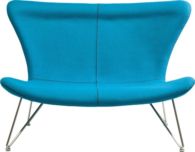sofa miami turquoise 2 sitzer eclectic sofas by kare. Black Bedroom Furniture Sets. Home Design Ideas