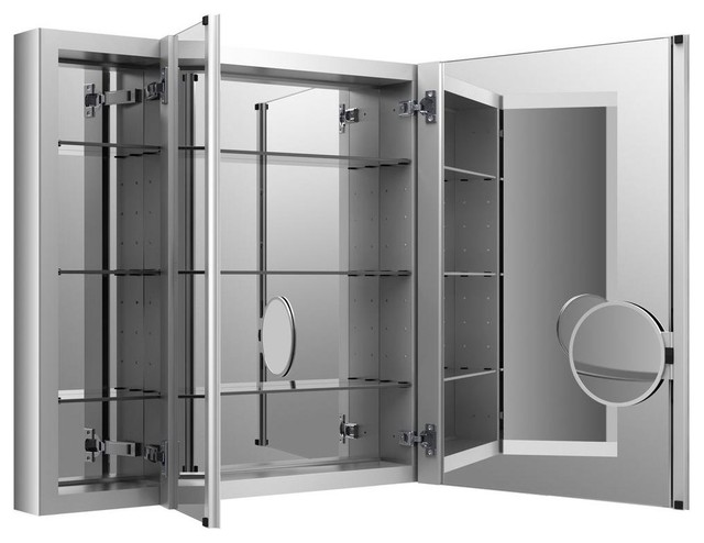 KOHLER Cabinets Verdera 40 in. W x 30 in. H Recessed Medicine Cabinet ...