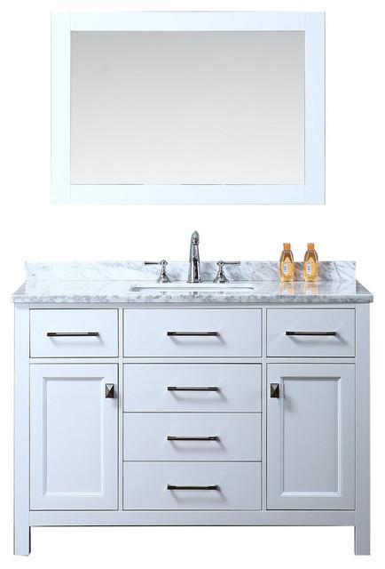 Espresso Bathroom Vanity With Mirror