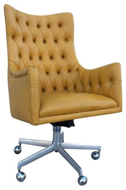 tufted office desk chair 2