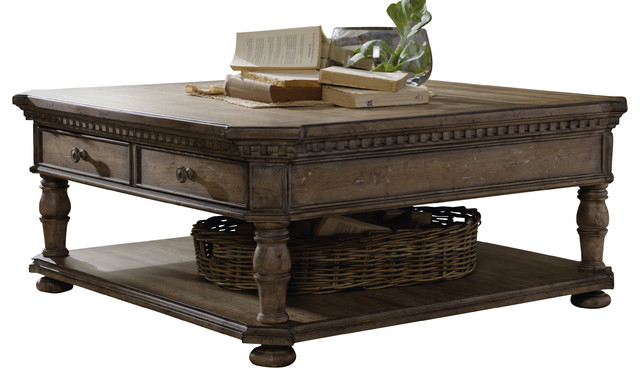 Hooker sorella rectangular cocktail table traditional coffee tables by bedroom furniture Traditional coffee tables and end tables