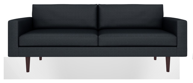 brady sofa klein black 65 sofa contemporary sofas los angeles by bobby berk home. Black Bedroom Furniture Sets. Home Design Ideas