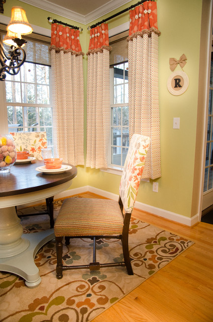 custom window treatments shabby chic style raleigh. Black Bedroom Furniture Sets. Home Design Ideas