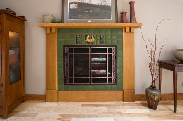 Craftsman fireplaces for Craftsman fireplaces photos