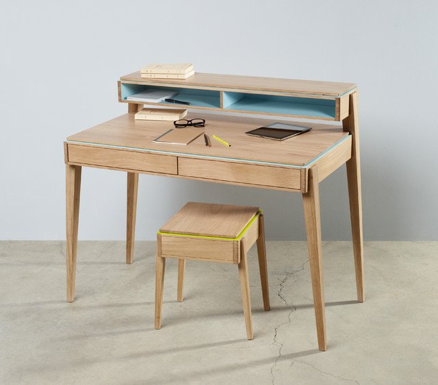 Mobilier collection lisere for Meuble bureau contemporain