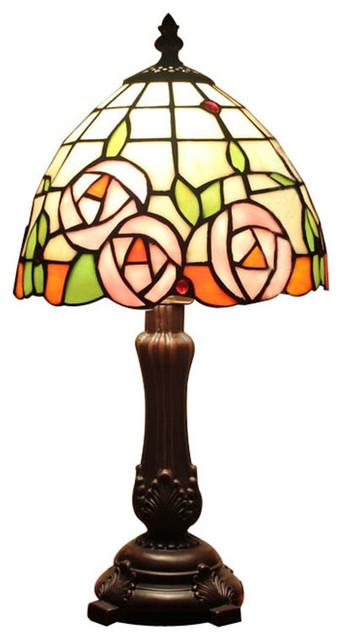 Custom table lamps tiffany style shade for bedroom - Traditional table lamps for bedroom ...