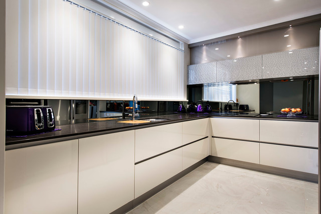 Kitchens modern perth by western cabinets for Kitchen cabinets perth