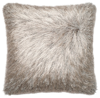Loloi Inc. Pillow, Silver
