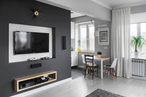 Compact Bachelor Haven in Moscow