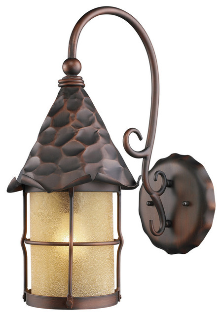 Elk Lighting Rustica Outdoor Sconce, 10