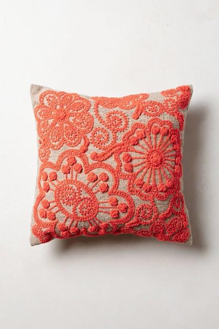 costilla pillow coral contemporary decorative pillows. Black Bedroom Furniture Sets. Home Design Ideas