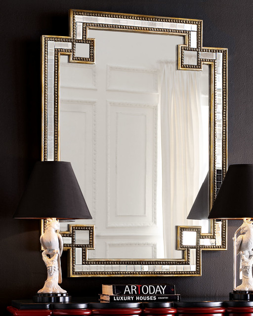 John Richard Collection Mosaic Mirror Traditional By