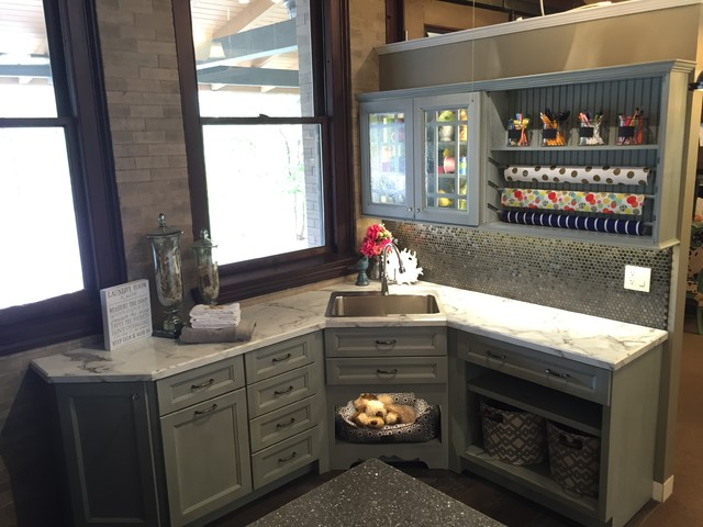 SHOWROOM - Laundry Display - Transitional - Laundry Room - Other - by Showcase - Hastings, NE