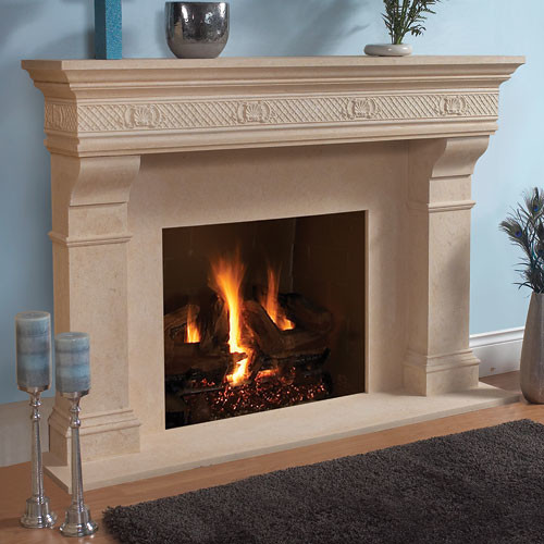 Galway Stone Fireplace Mantel