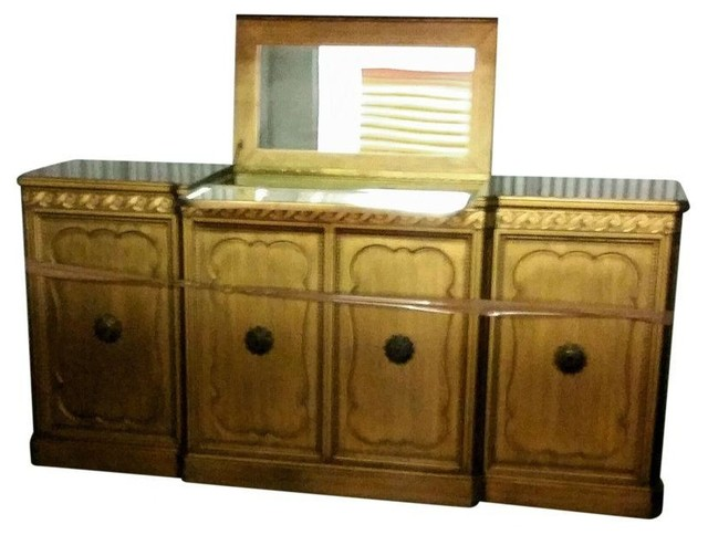 Vintage champagne bar modern sideboards by chairish for Sideboard yannick
