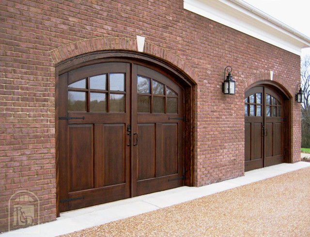 Wood Carriage Garage Doors