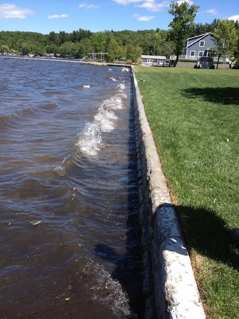 Lake Front Retaining Wall