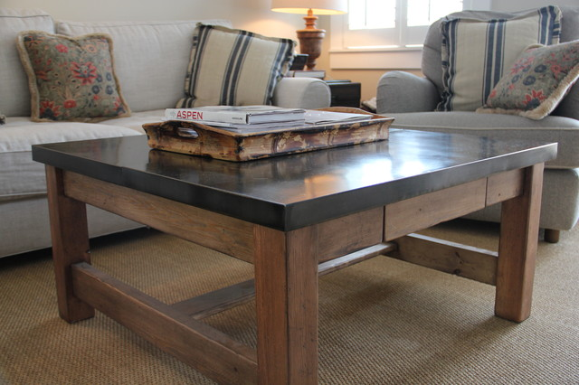 Coffee Table Traditional Coffee Tables Denver By