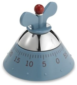 Alessi Michael Graves Kitchen Timer In Blue Contemporary Kitchen Timers By Bed Bath Beyond