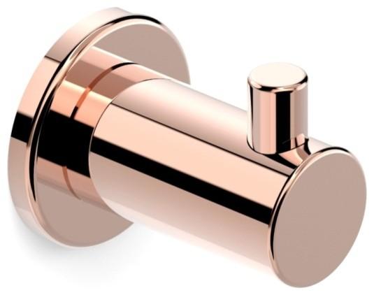 New Faucet Strommen Pegasi Robe Hook In Rose Gold