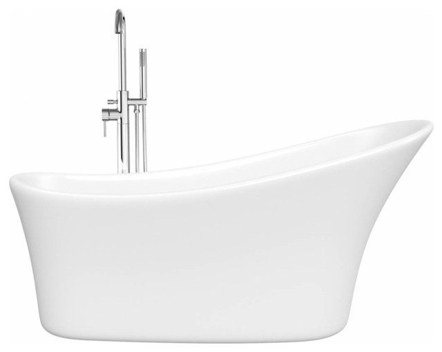 Harding Single Ended Slipper Bath Victoria Plumb Contemporary Baths B