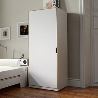 modular stapelbar jugendschrank 1 bauhaus look. Black Bedroom Furniture Sets. Home Design Ideas
