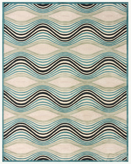 Oceanic Wave - Contemporary - Rugs - orange county - by Hemphill's Rugs & Carpets