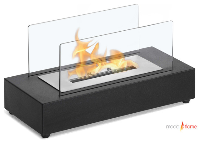 Moda Flame Rubi Table Top Ethanol Fireplace Modern tabletop fireplaces