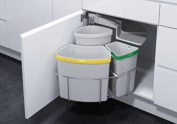 Kitchen Trash Amp Recycling Oko 2 Contemporary Trash