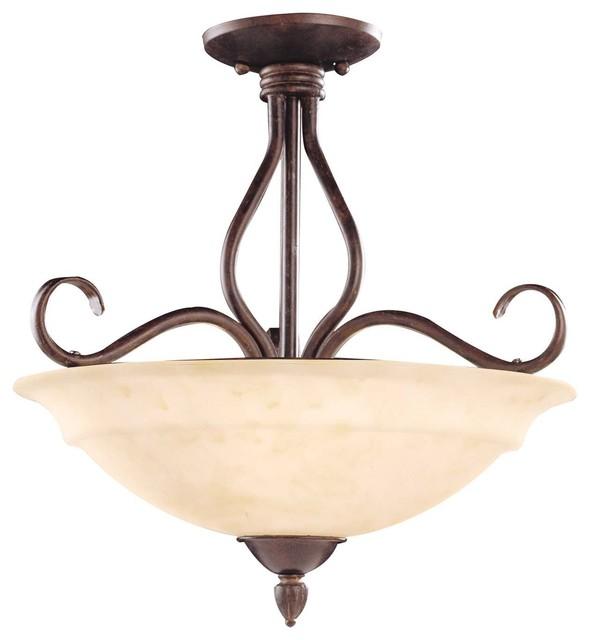 bryce semi flush modern flush mount ceiling lighting