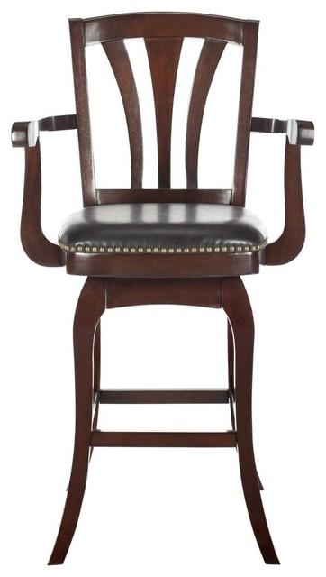 Nazario bar stool traditional bar stools and kitchen - Traditional kitchen bar stools ...
