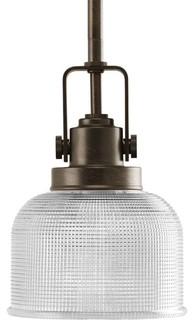 Progress Lighting P5173 74 Archie 1 Light Mini Pendant Light In Venetian Bron