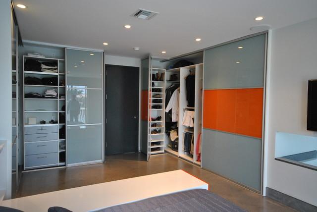 modern sliding closet doors modern closet organizers miami by armadi closets. Black Bedroom Furniture Sets. Home Design Ideas