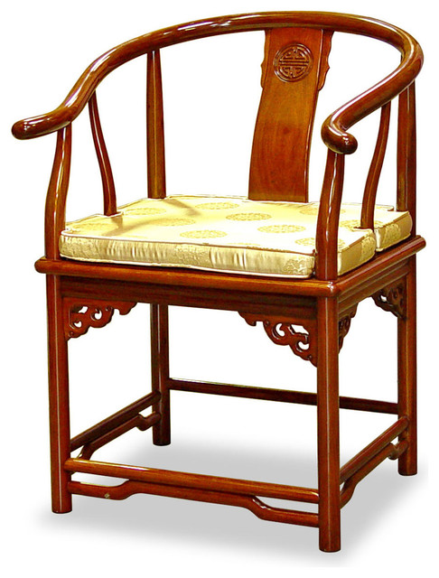 Know, Asian style accent chairs can