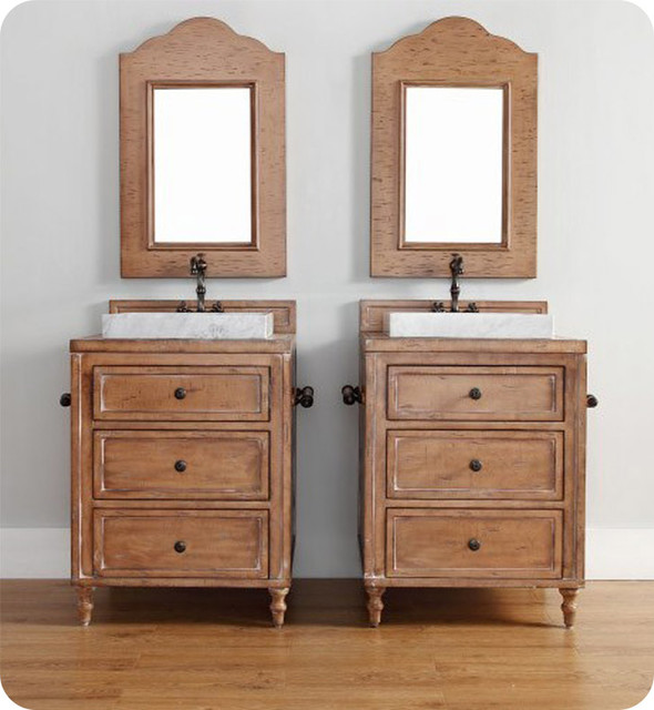 Original Americana Rustic Bathroom Vanity Cabinets Driftwood  Native Trails