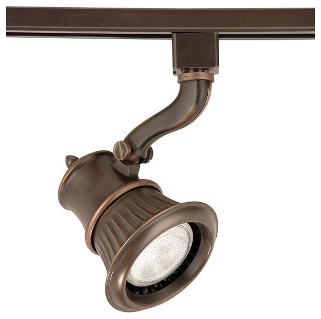 wac rialto bronze track head for lightolier track systems traditional tra. Black Bedroom Furniture Sets. Home Design Ideas