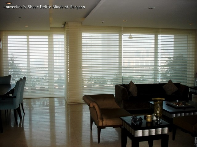 Window shade in living room for Living room vertical blinds