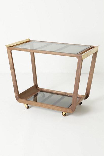 Beresford Bar Cart Contemporary Bar Carts By
