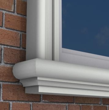 Mx201 Exterior Window Sills Molding And Trim Toronto By Mouldex Exterior Interior