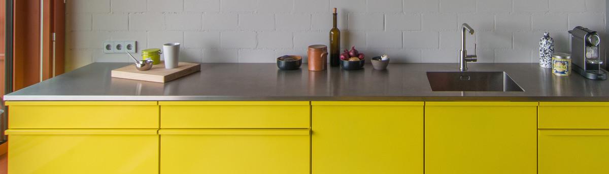 popstahl k chen. Black Bedroom Furniture Sets. Home Design Ideas