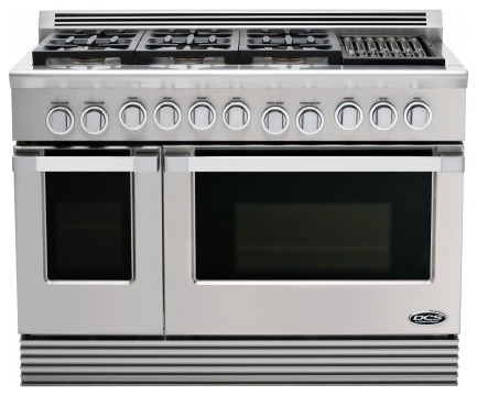 looking for a 48 side by side double oven with charbroiler