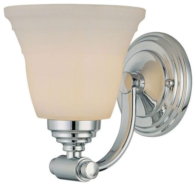 Contemporary Chrome Vanity Lights : Millennium Lighting Vanity Light, Chrome - Contemporary - Bathroom Vanity Lighting - by ShopFreely