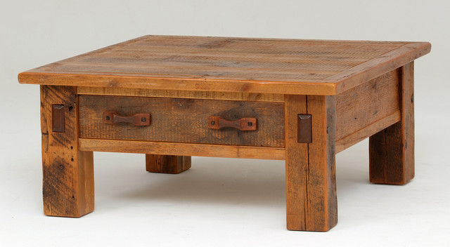 Reclaimed Barnwood Coffee Table Rustic Tables