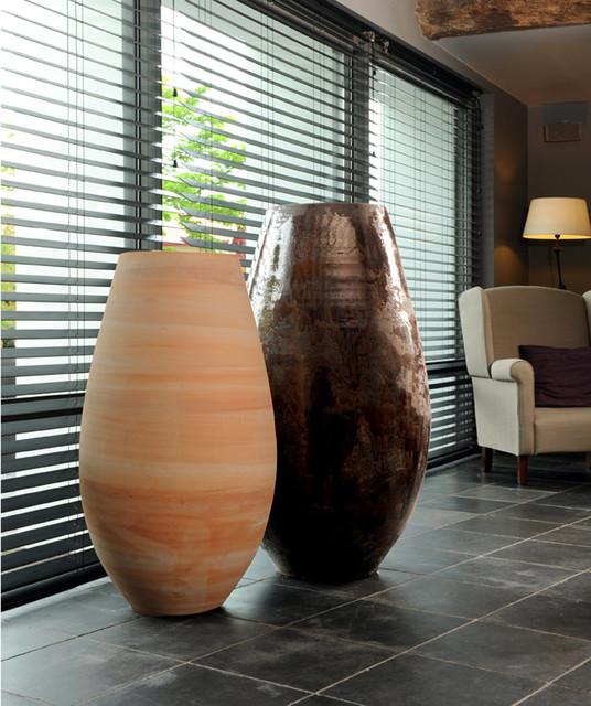 Collection d co xxl contemporain pot et jardini re d - Pot decoratif interieur ...