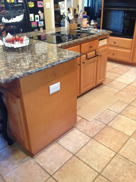 Cabinet refinishing - Transitional - Kitchen - charlotte - by ...
