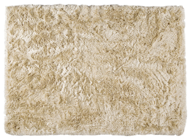 Mat the basics dubai vanilla shag rug modern rugs for Modern rugs los angeles