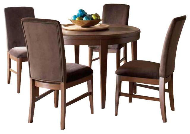 homelegance beaumont 6 piece round dining room set in
