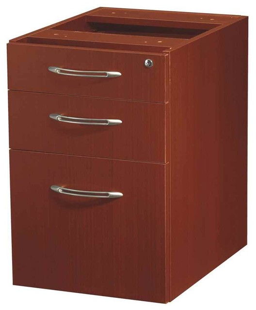 Suspended Desk File Cabinet - Contemporary - Filing Cabinets - by ShopLadder