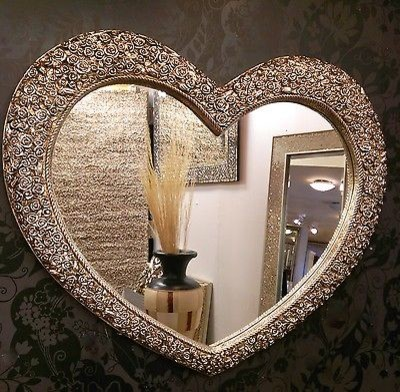 Heart Shaped Mirrors Wall By Exclusive